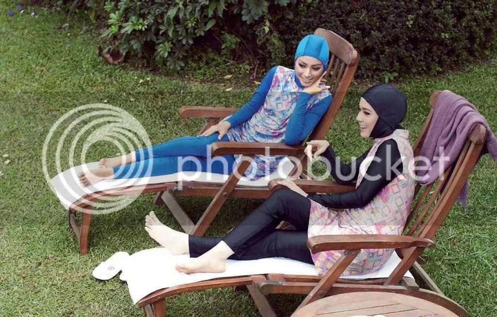 Tips Memilih Baju Renang Untuk Hijabers