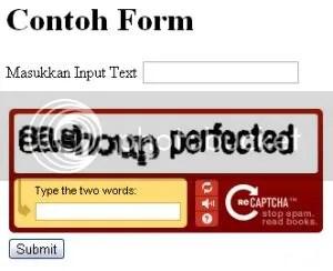 Captcha PHP