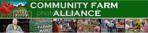 Community Farm Alliance -- sounds like something America could certainly use more of!