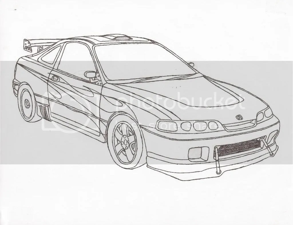 Jdm Car Coloring Pages Coloring Pages
