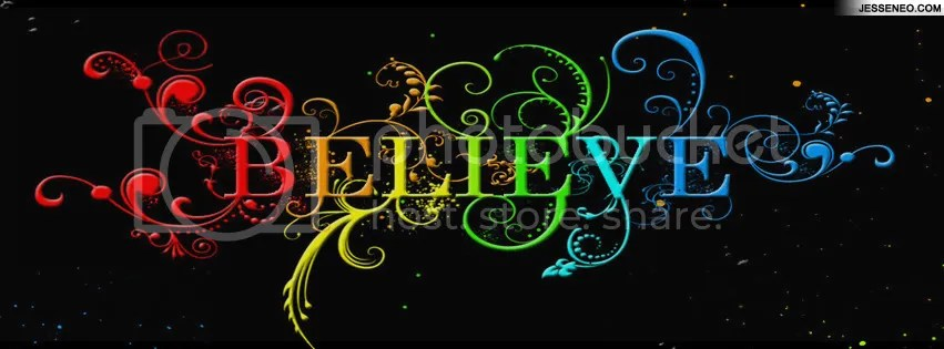 Image result for picture of the word believe