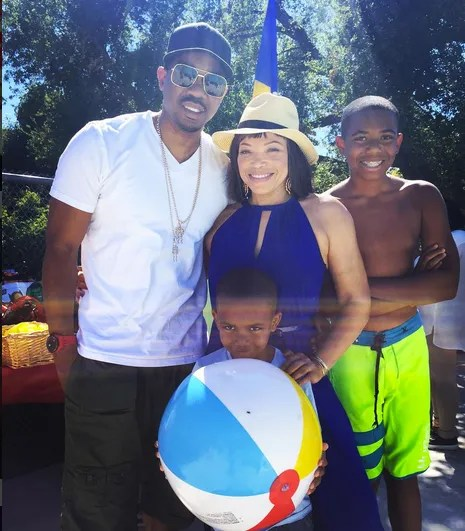 Tahj Mowry And His Parents
