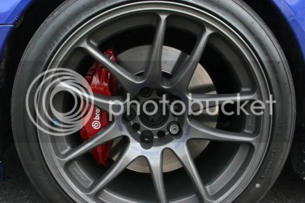 Work Emotion CR Kai EvolutionM Mitsubishi Lancer and