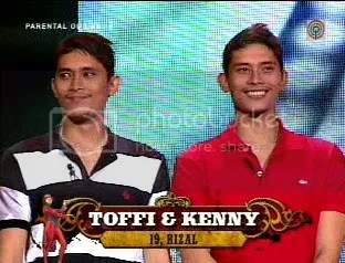 Toffi, the Basket Bolero ng Rizal, and his twin brother Kenny, the Joker Jock ng Rizal:
