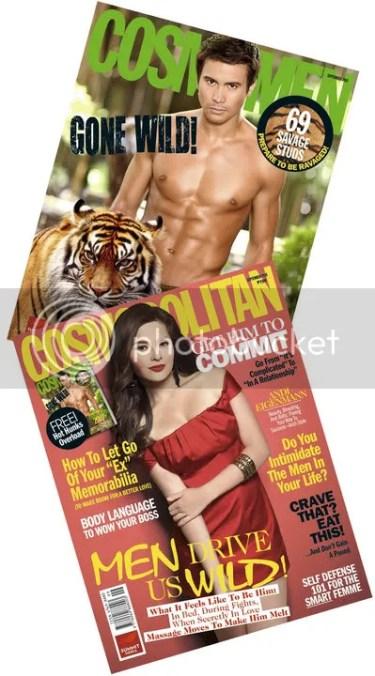 MAG COVER: Tom Rodriguez & Alden Richards for Cosmo Men