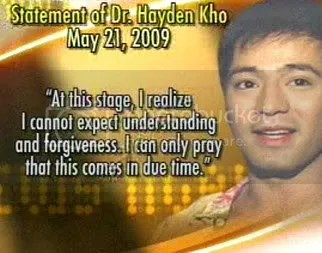 Hayden Kho Makes Public Apology For Sex Video Scandal With Katrina Halili Starmometer