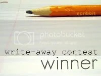 The Write-Away Contest hosted by Scribbit
