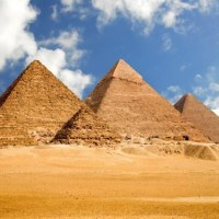 Ancient World of the Egyptian Pyramids: Why were Egyptian pyramids built, How were the Pyramids built?