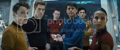 The Star Team team is on the bridge of the starship USS Enterprise