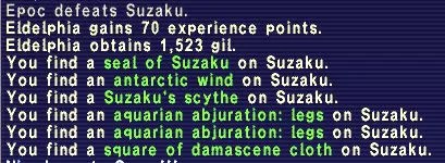 Suzaku Drops