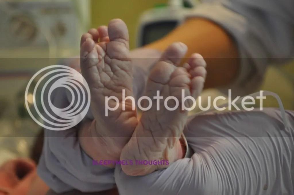 Baby feet!