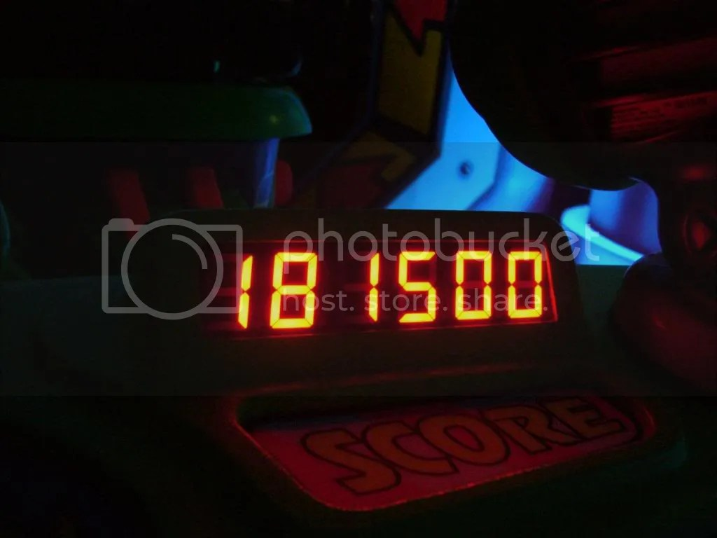 Proof of Chriss losing Buzz Lightyear score!