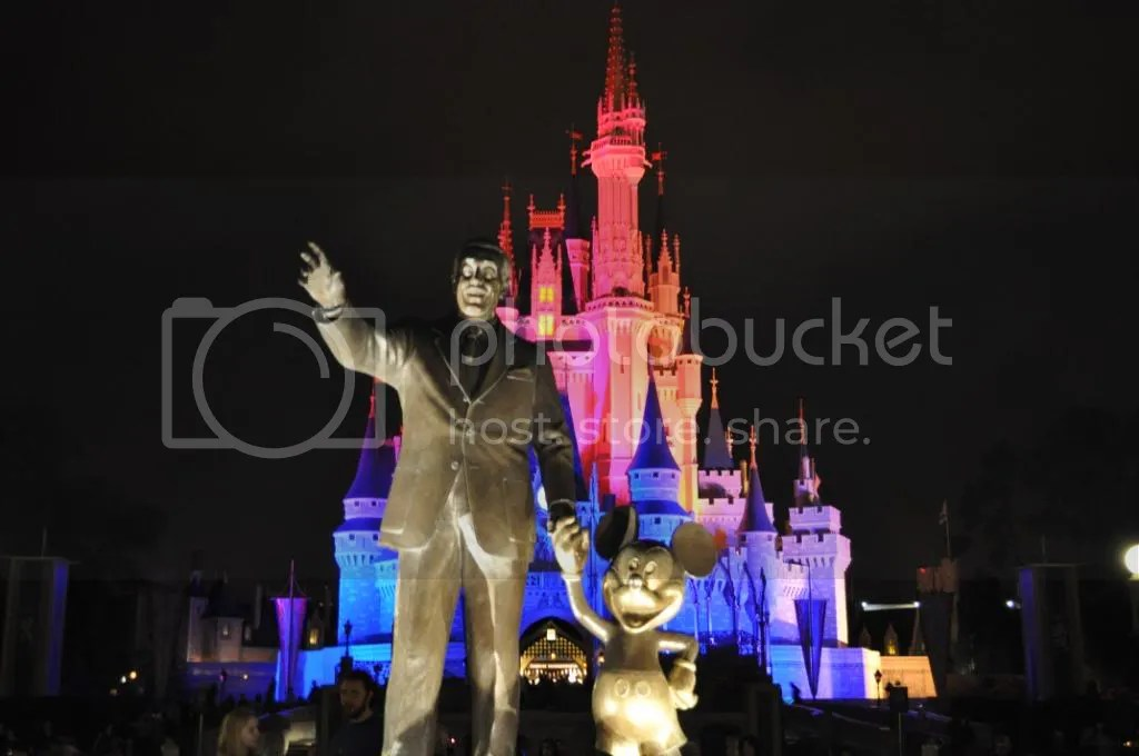 Walt, Mickey, and the Castle