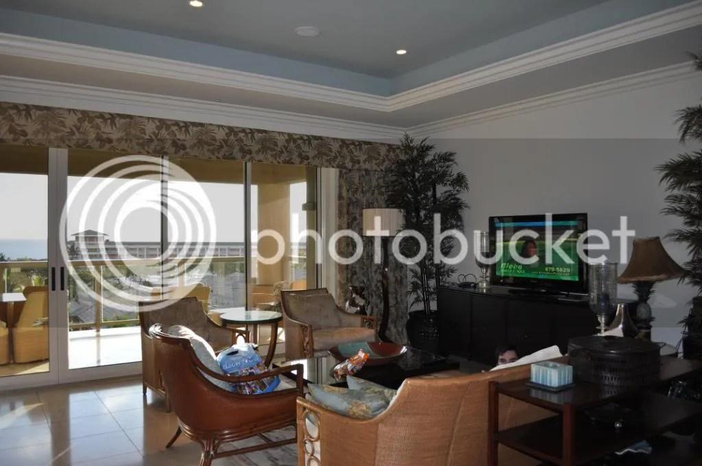 Family room of hotel room