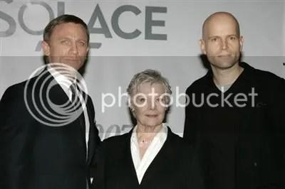 Daniel Craig, Judi Dench and Marc Forster - James Bond Quantum of Solace