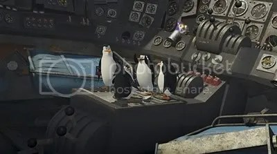 The penguins in Madagascar Escape 2 Africa