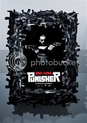 Punisher War Zone Ray Stevenson Lenticular Poster