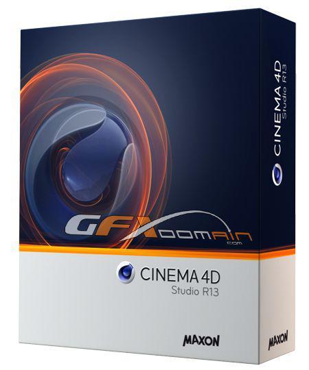 MAXON CINEMA 4D R13.058 (Update Advanced Render, VRay)