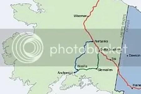 Online Interactive Map Wallpapers » map alaska pipeline