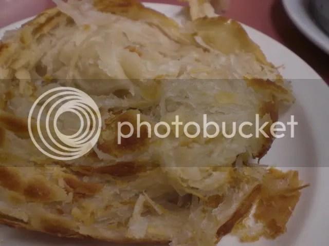 抓餅 (Thousand Layer Pancake, $2.75)