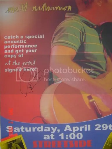 Show Poster from Matt Nathanson Pictures, Images and Photos