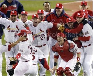 World Champion St. Louis Cardinals!