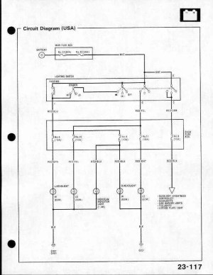 Need headlight wiring diagram Please Help!  HondaTech