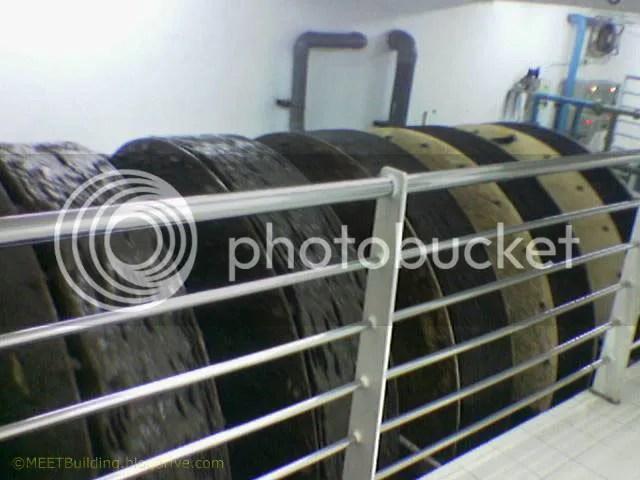 ROTOR DISK dengan sistim Fixed Film Reaktor