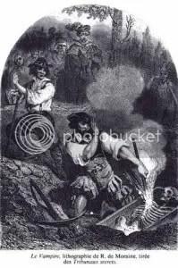 Le Vampire by R de Moraine, 1864