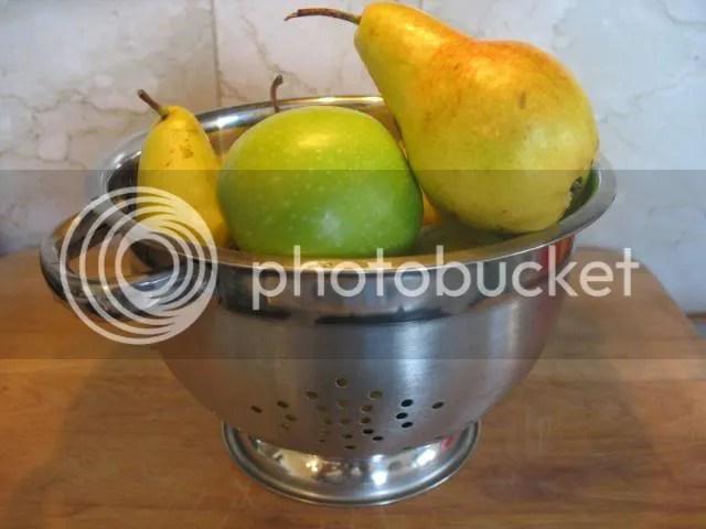 melon pear applesauce