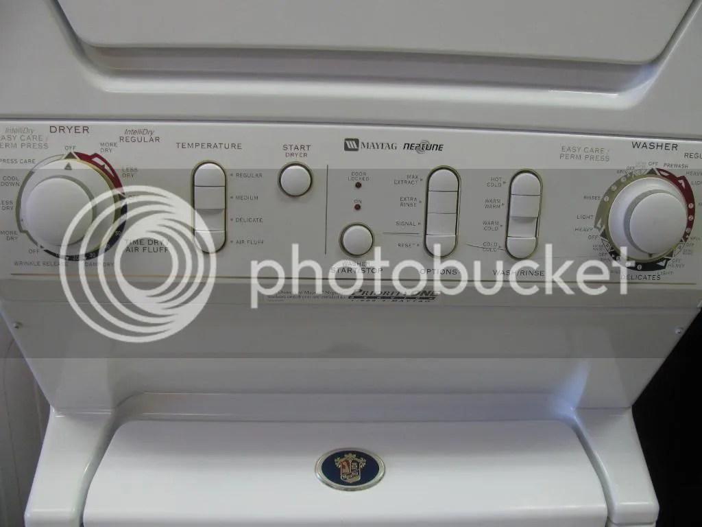 Original Maytag Neptune Washer Control Panel Parts Model Mah4000aww