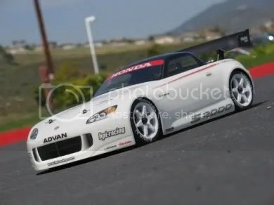 Honda S2000 Electric RC Car