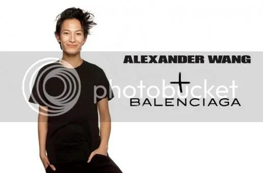 Balenciaga Alexander Wang Creative Director Nicolas Ghesquiere