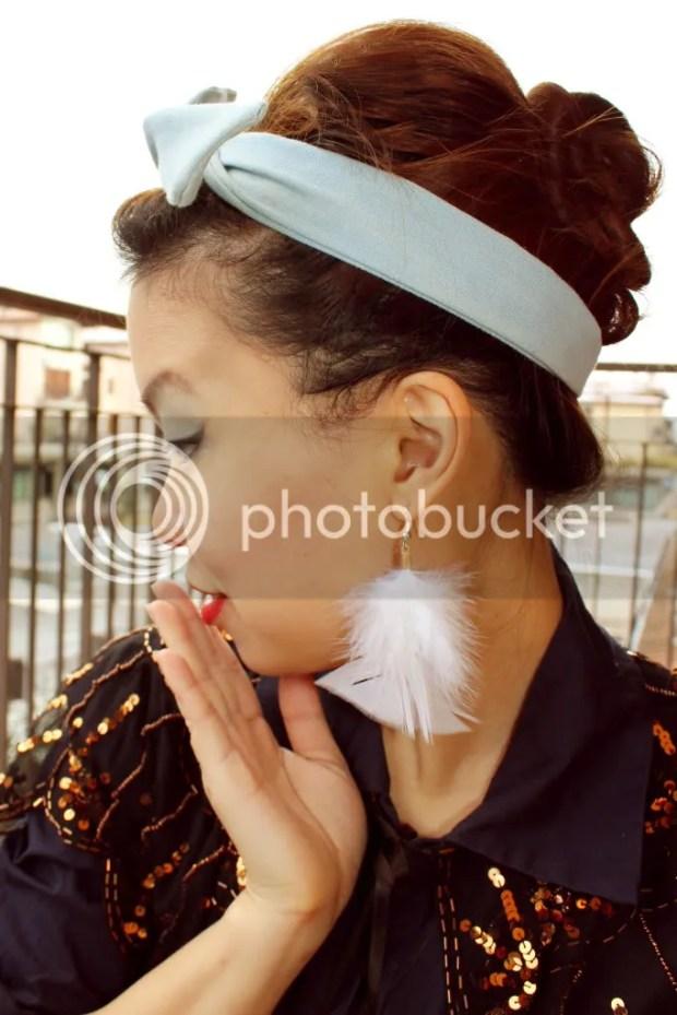 Vintage Fashion Mashup Look