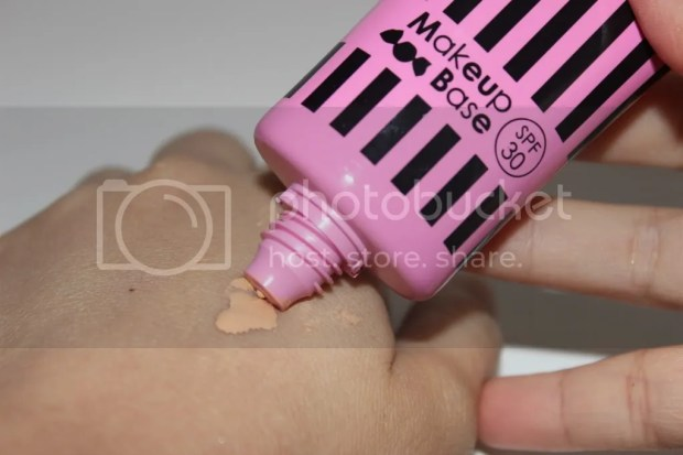 Candy Doll Makeup Base swatch