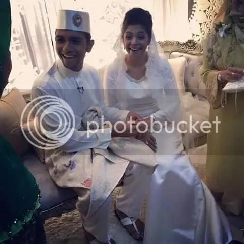 gambar taufik batisah kahwin