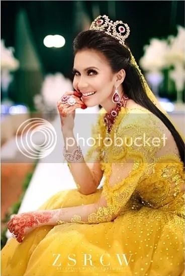 gambar majlis resepsi rozita che wan