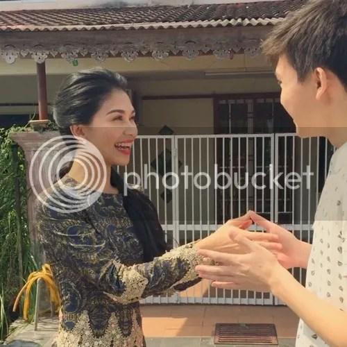 gambar kahwin anzalna