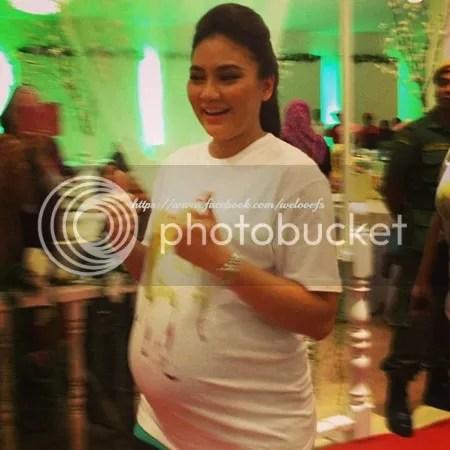Fasha Sandha Bakal Lahirkan Bayi Lelaki Awal April Ini