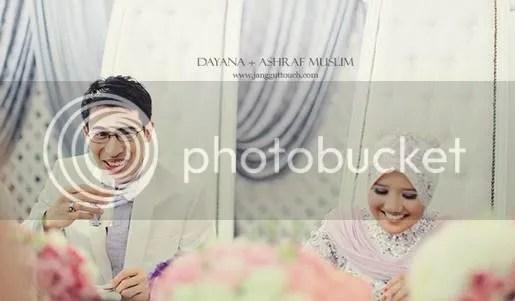 ashraf muslim kahwin dua