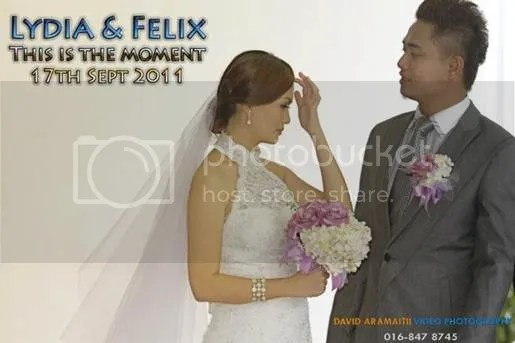 gambar kahwin felix af3