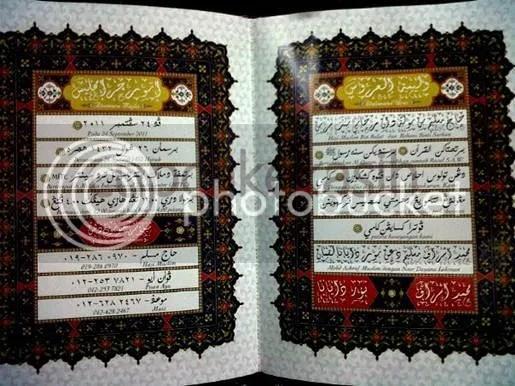 kad kahwin ashraff muslim