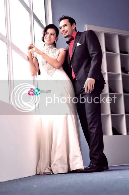 gambar pra perkahwinan memey dan norman