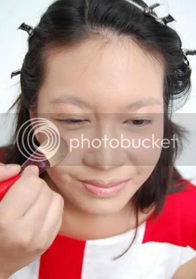 red glow make up