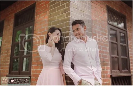 gambar pra perkahwinan aidil dan zarema
