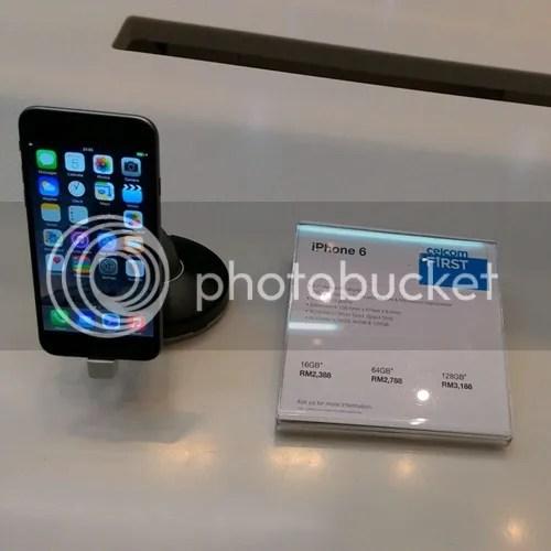 celcom iphone 6
