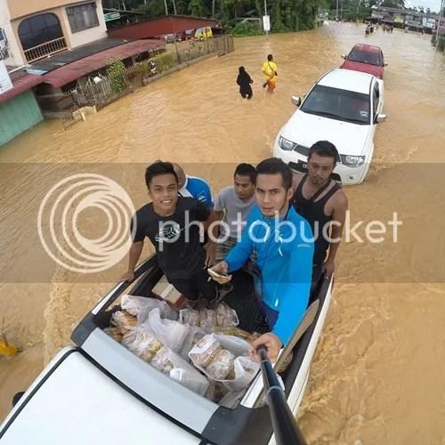 fizo omar mangsa banjir