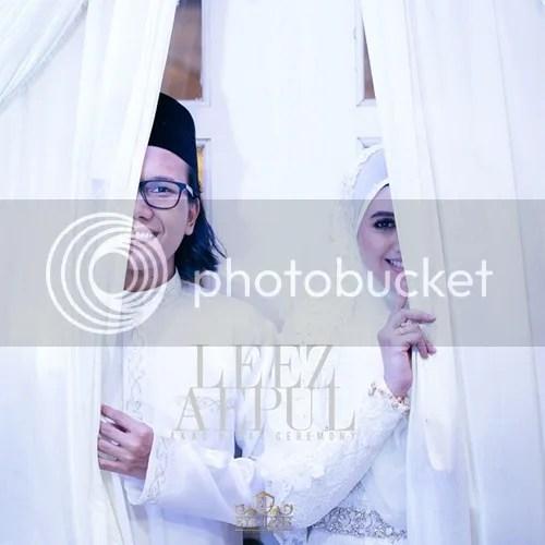 gambar kahwin leez rosli
