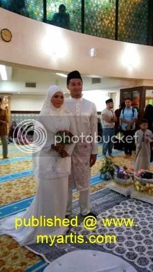 gambar kahwin syafiq yusof