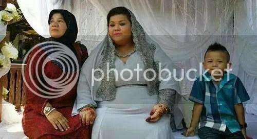 gambar kahwin syanie